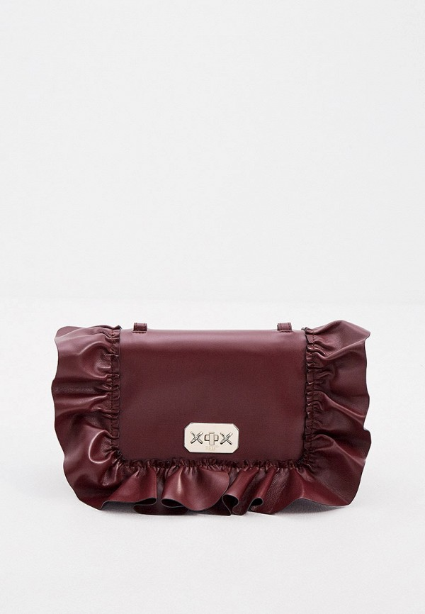 женская сумка через плечо red(v), бордовая