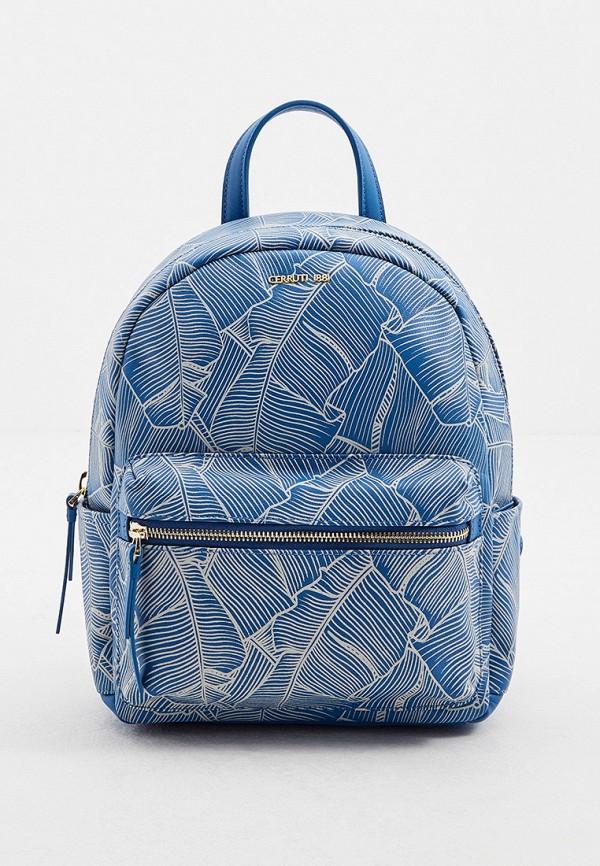женский рюкзак cerruti 1881, голубой