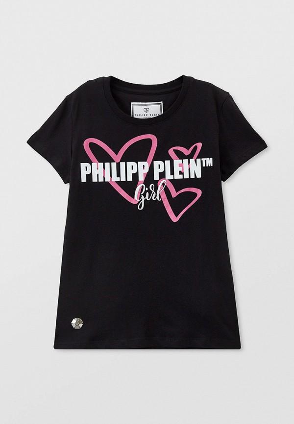 Футболка Philipp Plein черного цвета