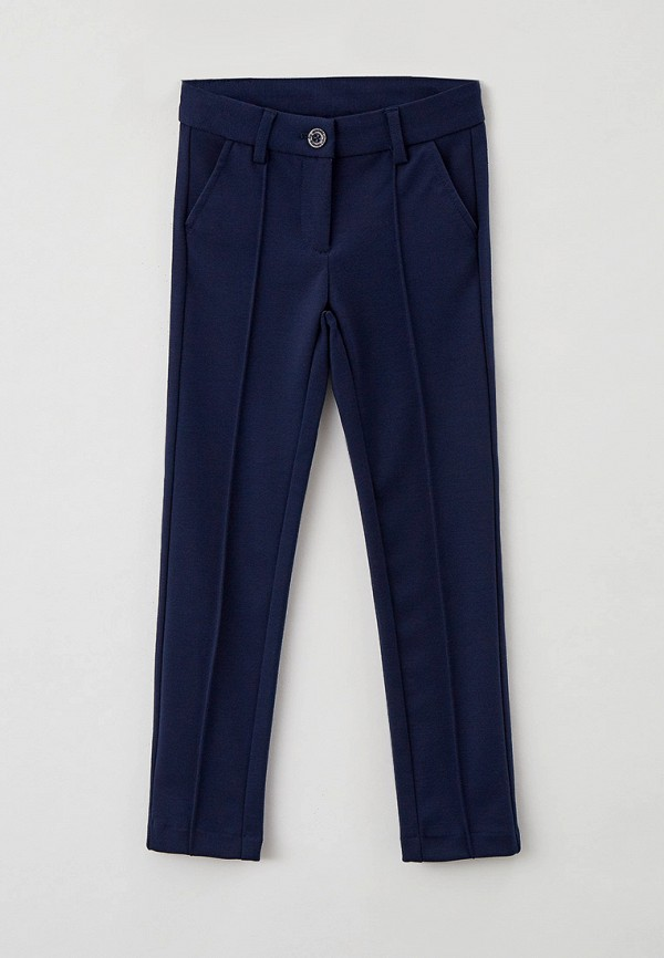 брюки button blue для девочки, синие