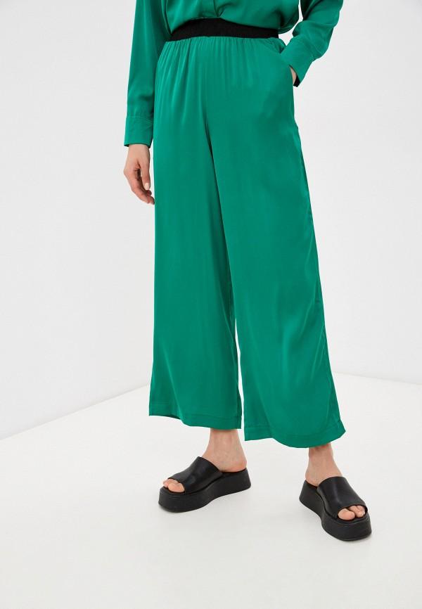 женские повседневные брюки francesca peretti, зеленые
