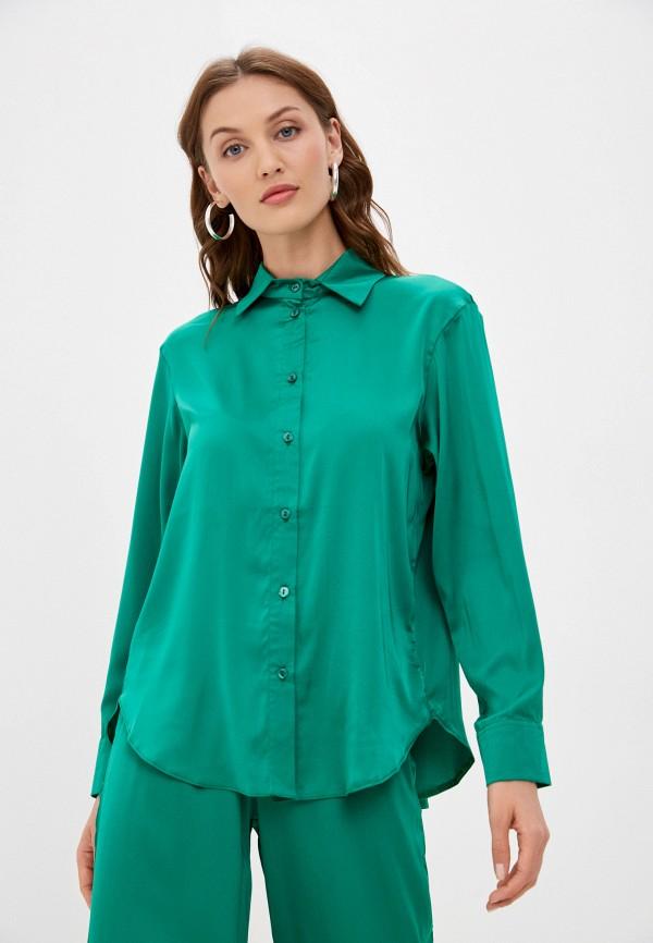 женская блузка francesca peretti, зеленая