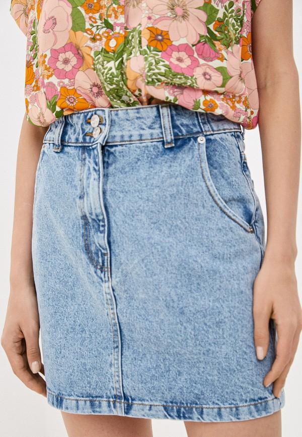 Юбка джинсовая Mango