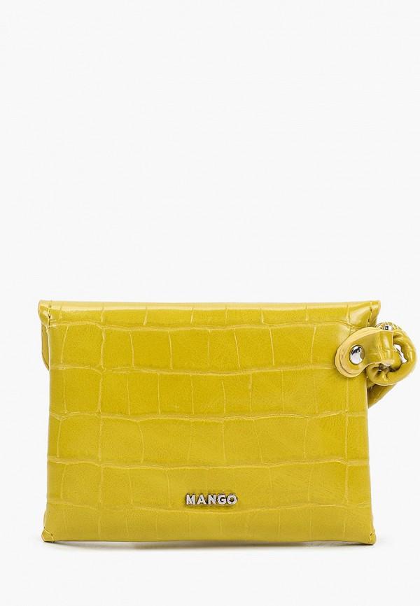 женский кошелёк mango, желтый