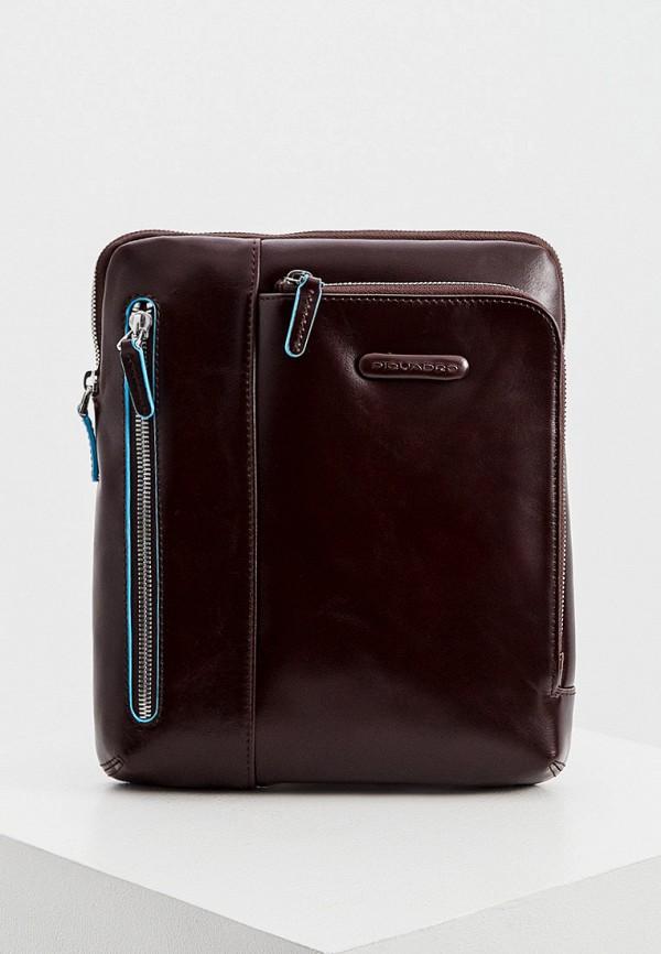 мужская сумка piquadro, разноцветная