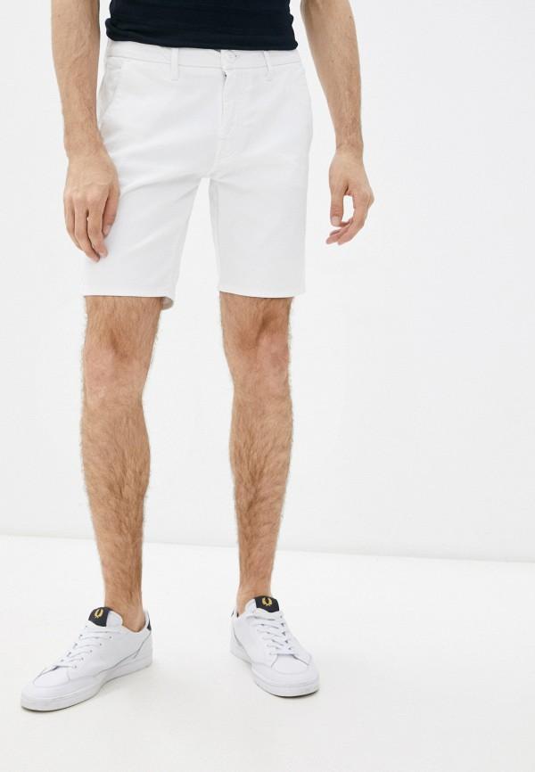мужские повседневные шорты guess, белые