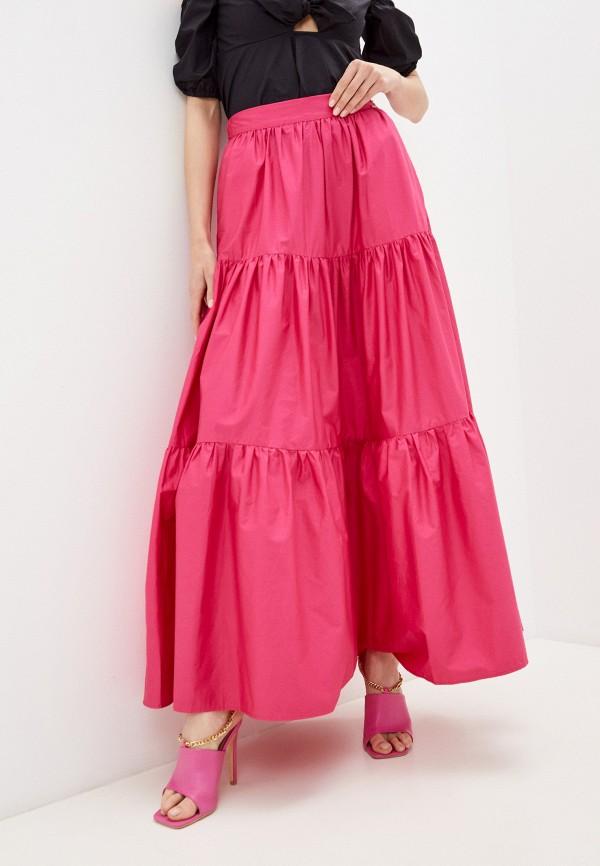 женская юбка guess, розовая