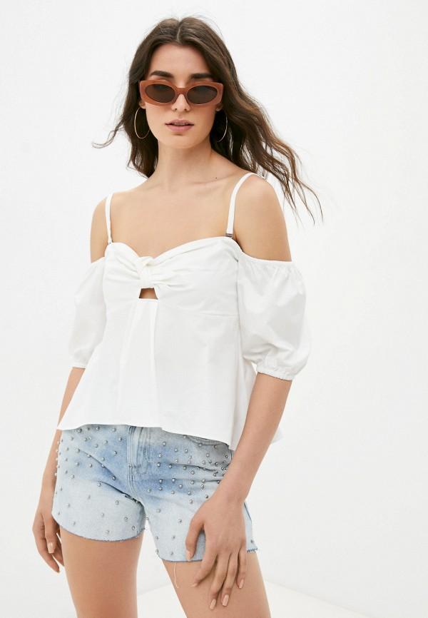 женская блузка guess, белая