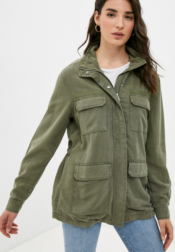 женская куртка guess, хаки