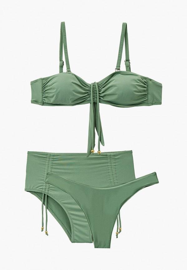 женский купальник rene santi, зеленый