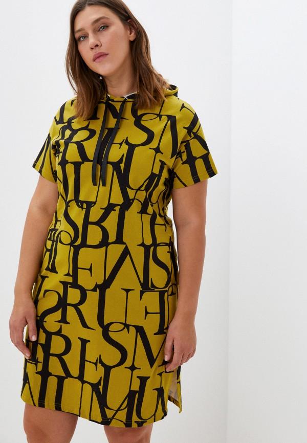 женское платье-толстовки rene santi, хаки