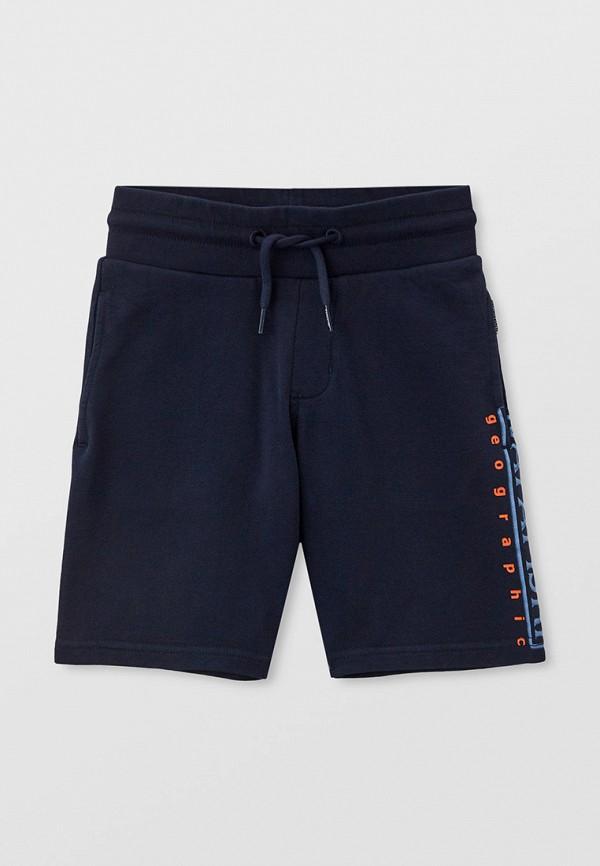 спортивные шорты napapijri для мальчика, синие