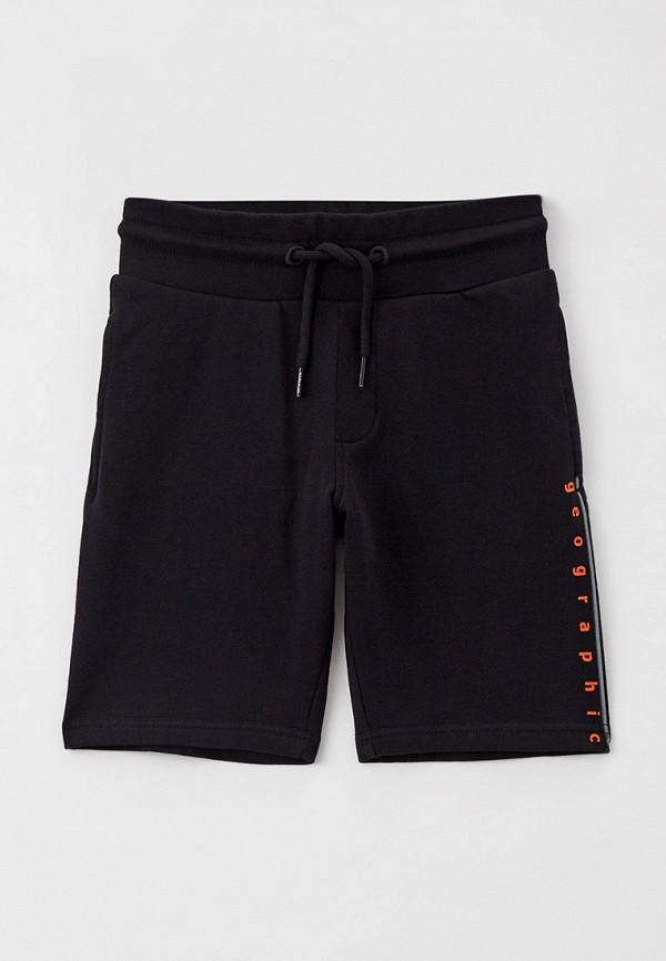 спортивные шорты napapijri для мальчика, черные
