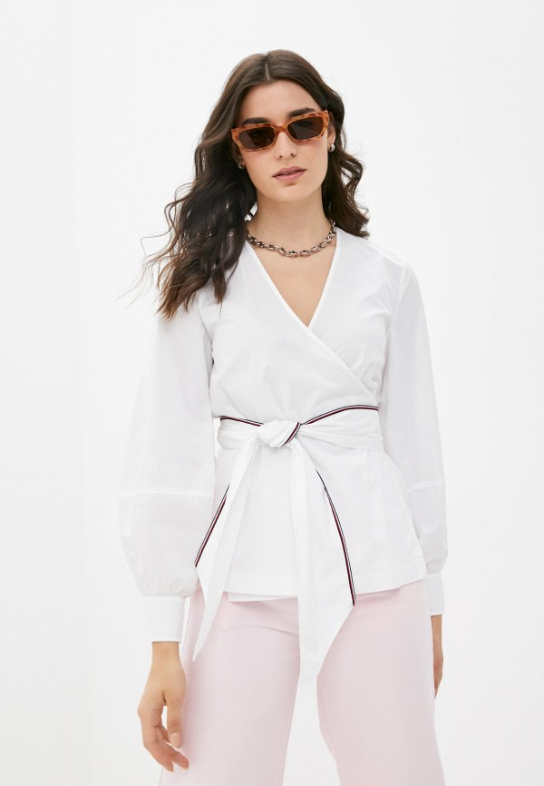 Блуза Tommy Hilfiger белого цвета