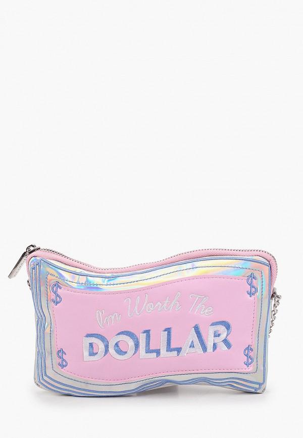 женская сумка skinnydip, розовая