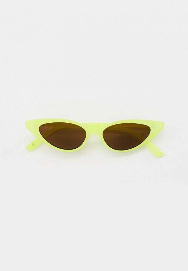 женские солнцезащитные очки skinnydip, желтые