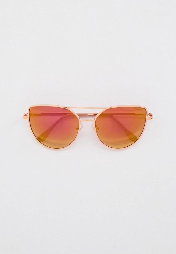 женские солнцезащитные очки skinnydip, золотые