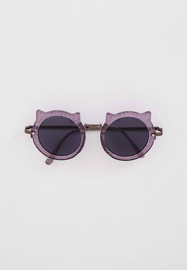 женские солнцезащитные очки skinnydip, фиолетовые