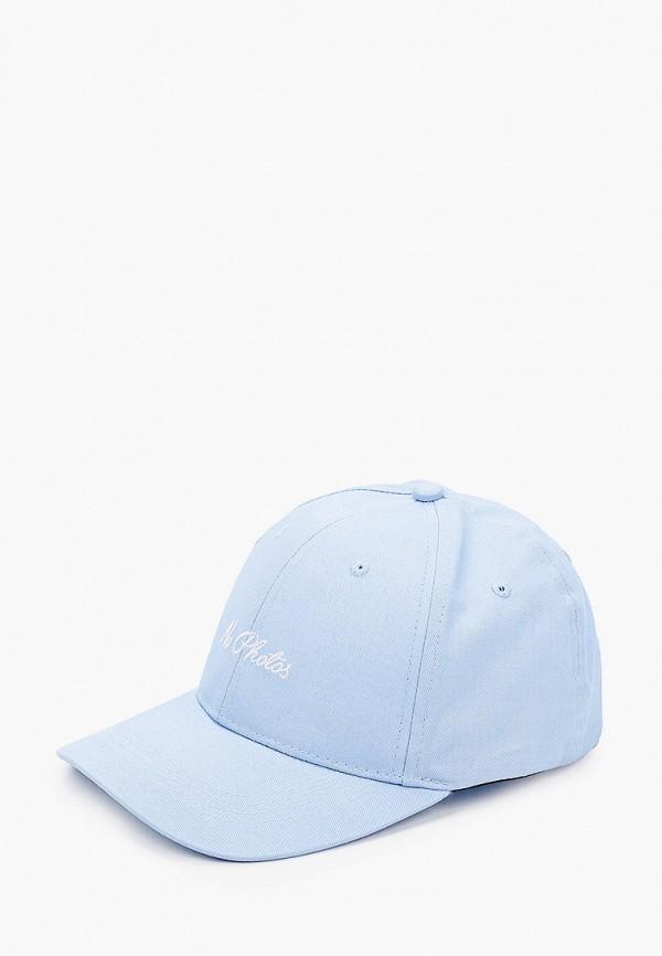 женская бейсболка skinnydip, голубая