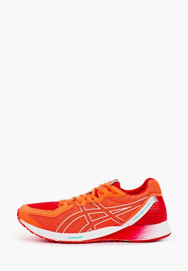 женские низкие кроссовки asics, оранжевые