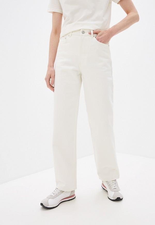 женские прямые джинсы wood wood, бежевые