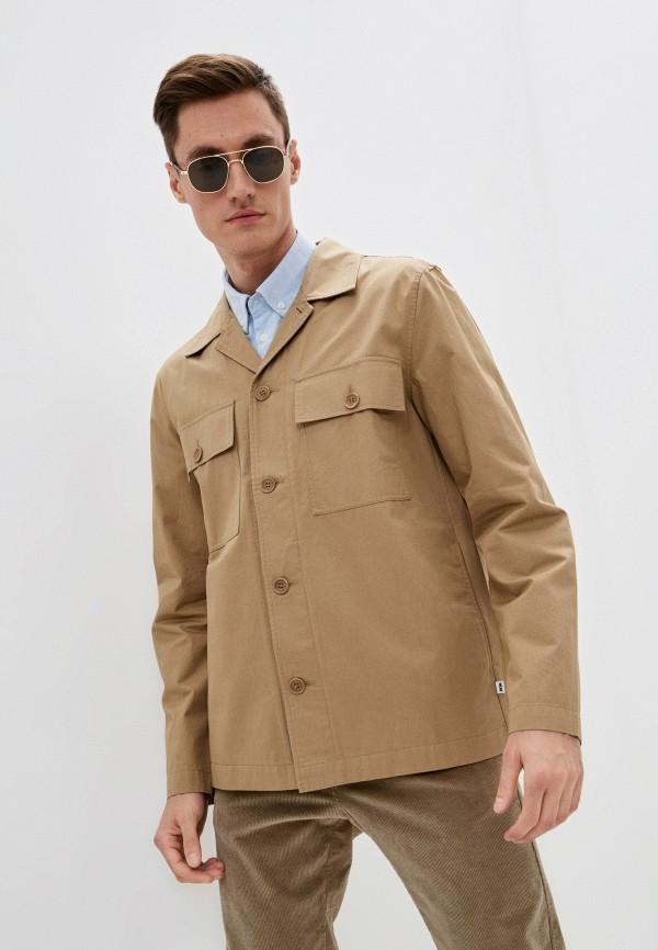 мужская куртка wood wood, бежевая