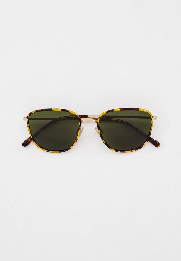 мужские квадратные солнцезащитные очки polo ralph lauren, желтые