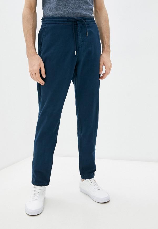 мужские повседневные брюки guess, синие