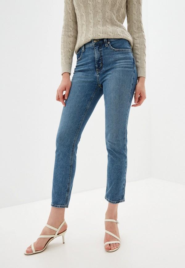женские прямые джинсы lauren ralph lauren, синие