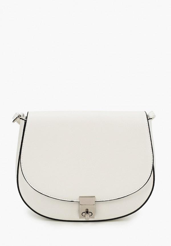 женская сумка через плечо moda sincera, белая