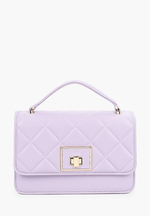 женская сумка с ручками moda sincera, фиолетовая