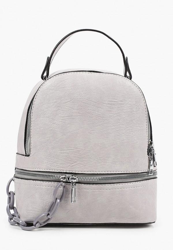 женский рюкзак moda sincera, серый