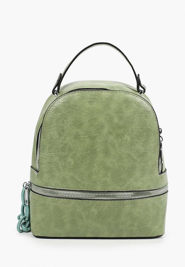 женский рюкзак moda sincera, зеленый