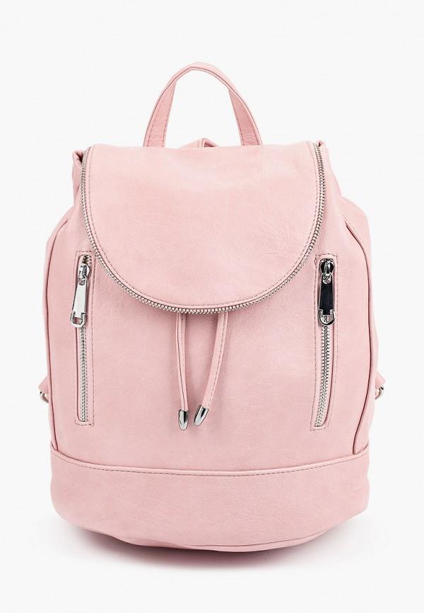 женский рюкзак moda sincera, розовый