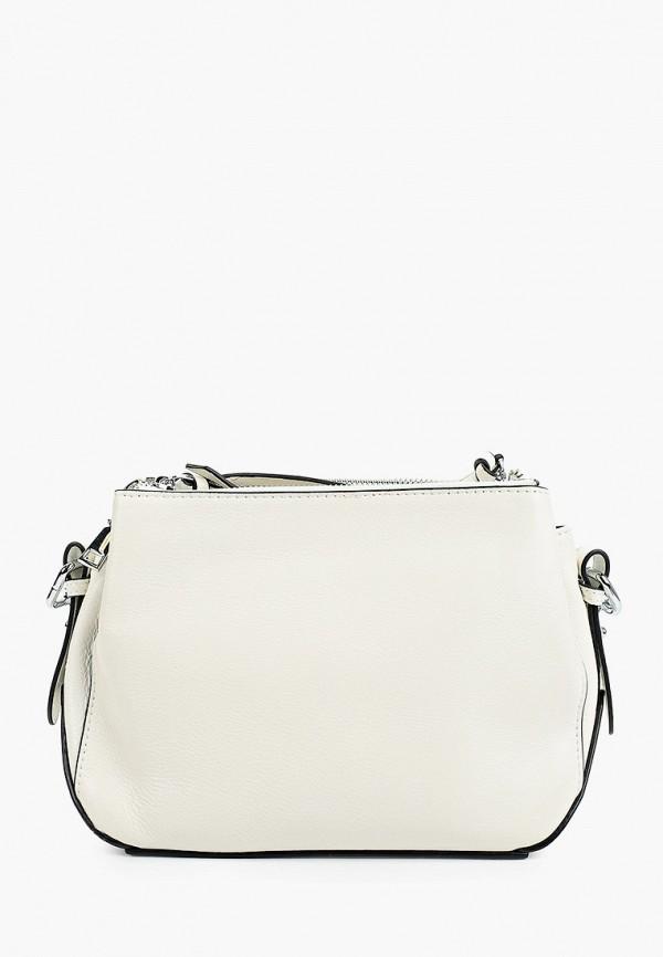 женская сумка с ручками moda sincera, белая