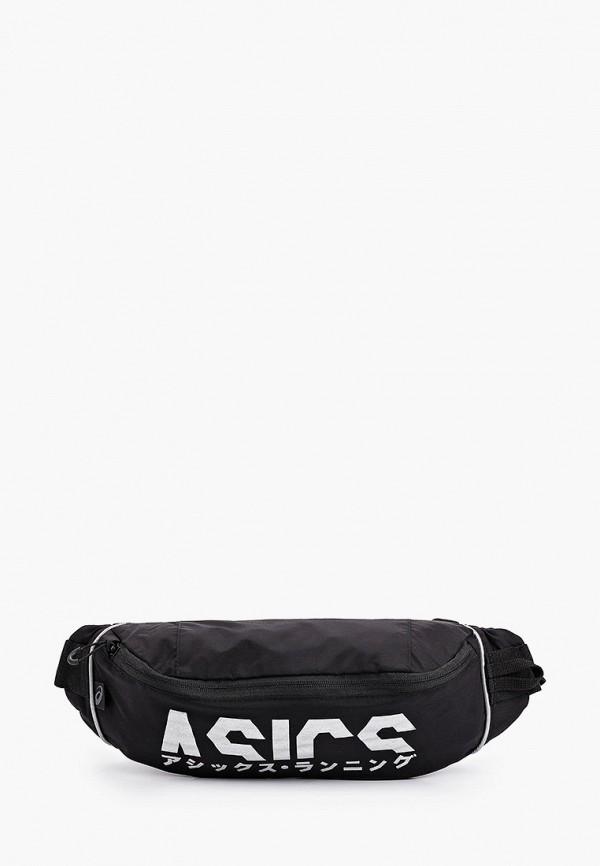 женская поясные сумка asics, черная