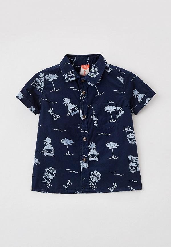 рубашка koton малыши, синяя