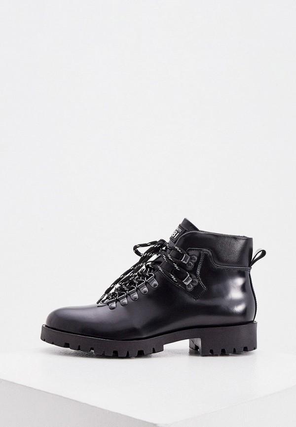 женские ботинки cerruti 1881, черные
