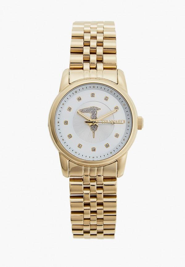 женские часы trussardi, золотые