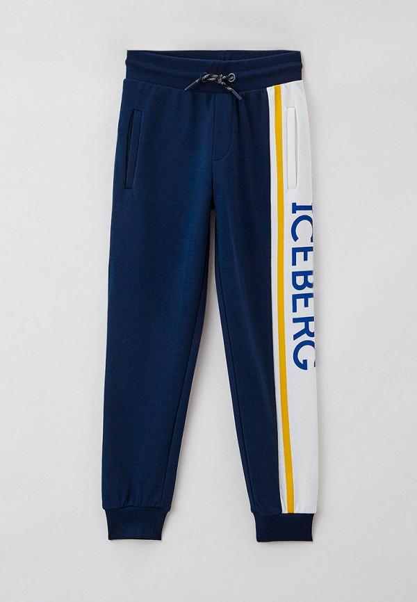спортивные брюки ice iceberg для мальчика, синие