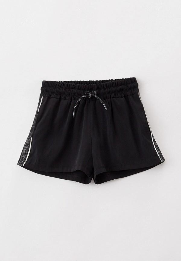 спортивные шорты ice iceberg для девочки, черные