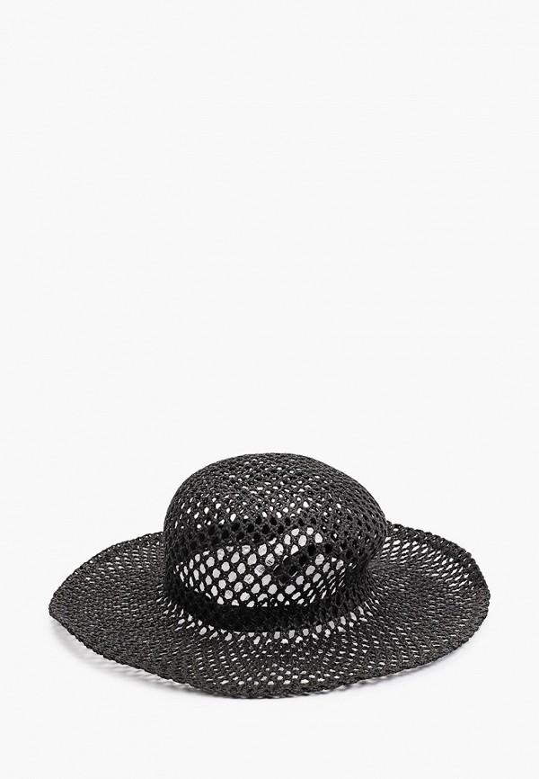женская шляпа mango, черная