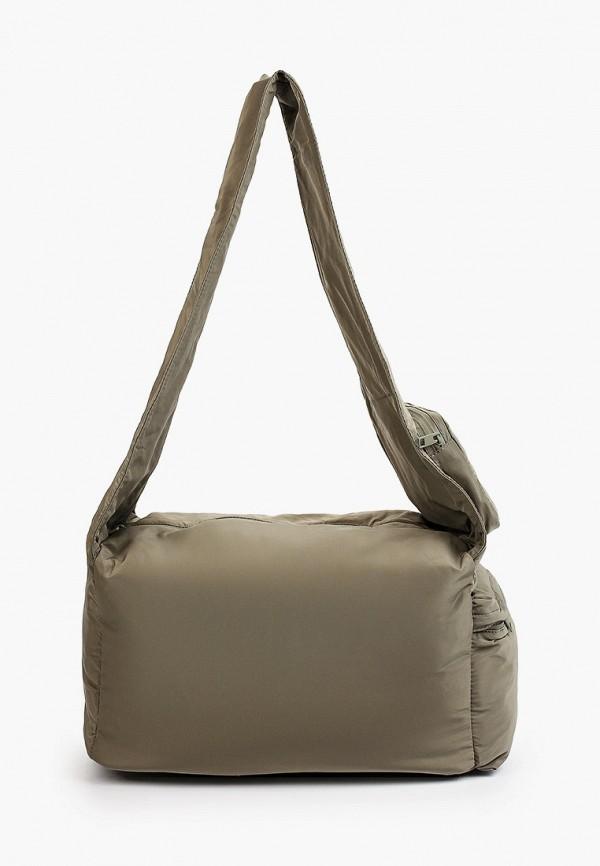 женская спортивные сумка mango, серая