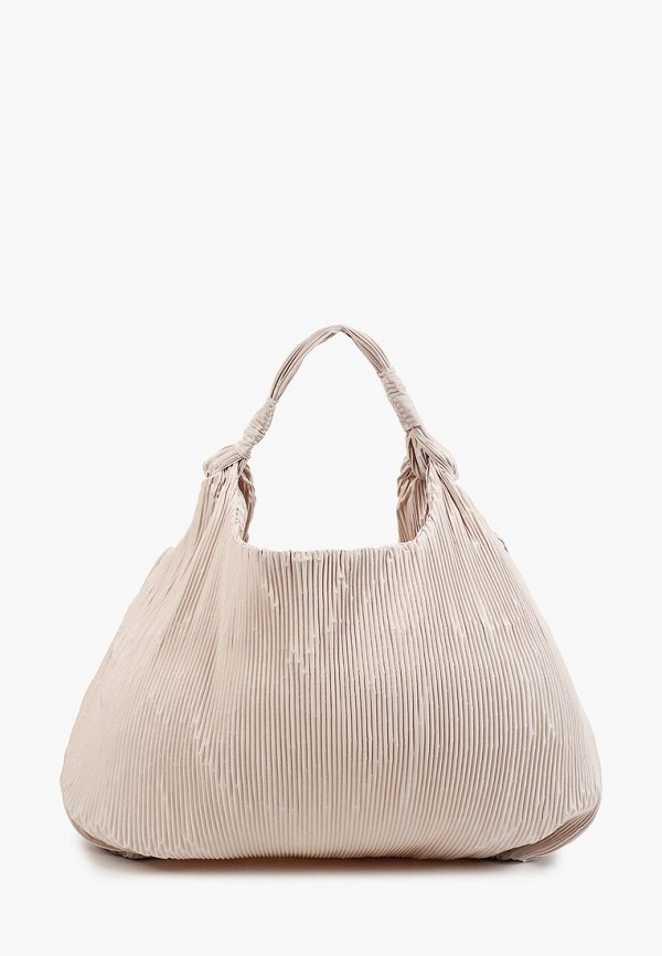 женская сумка-шоперы mango, бежевая