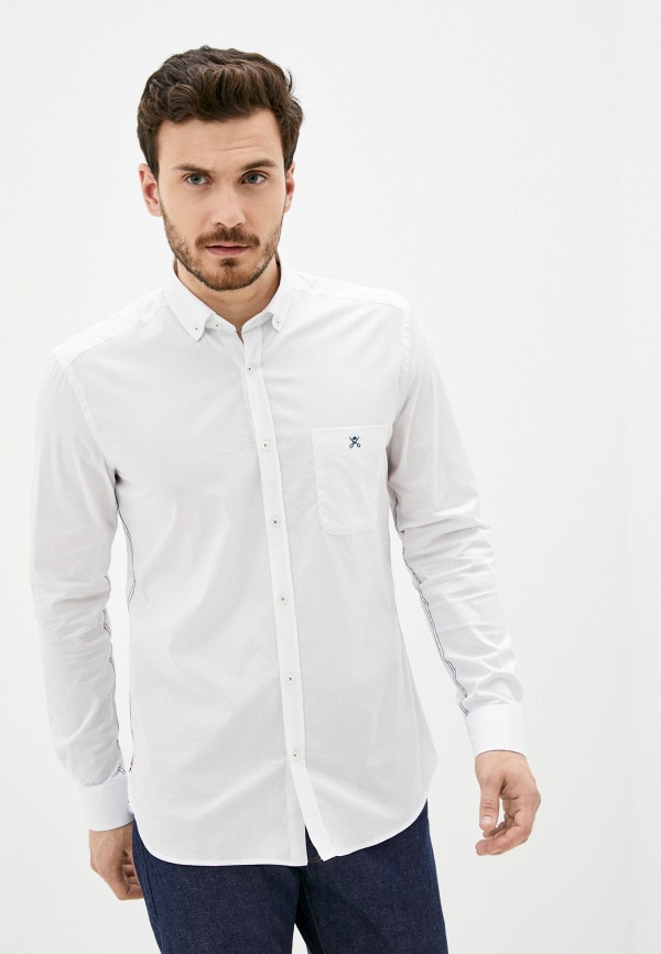 мужская рубашка felix hardy, белая