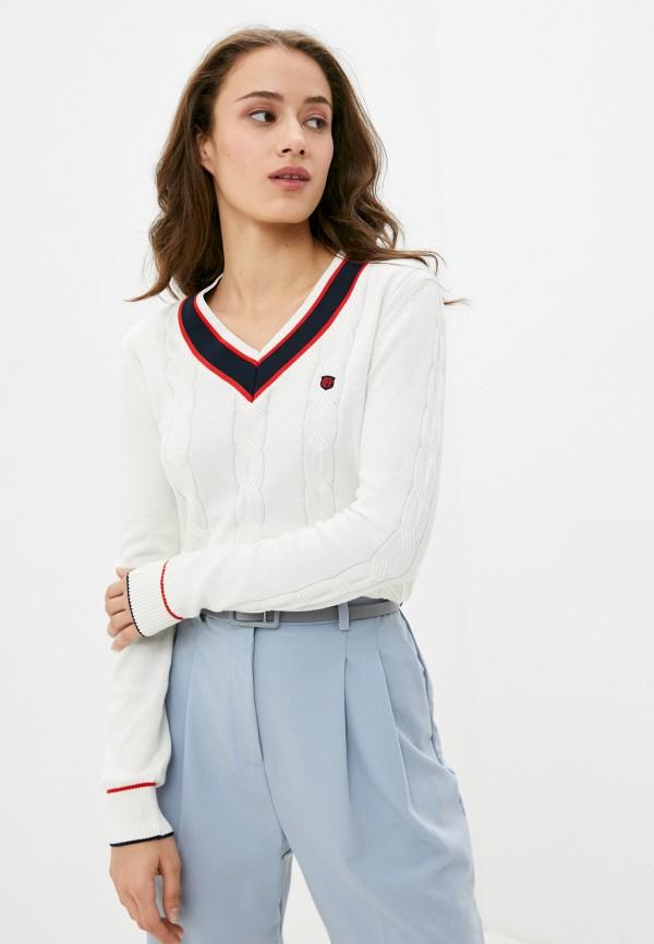 женский пуловер felix hardy, белый