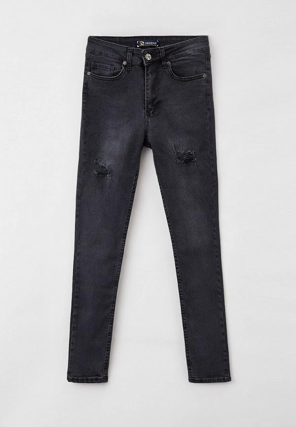 женские джинсы giorgio di mare, черные