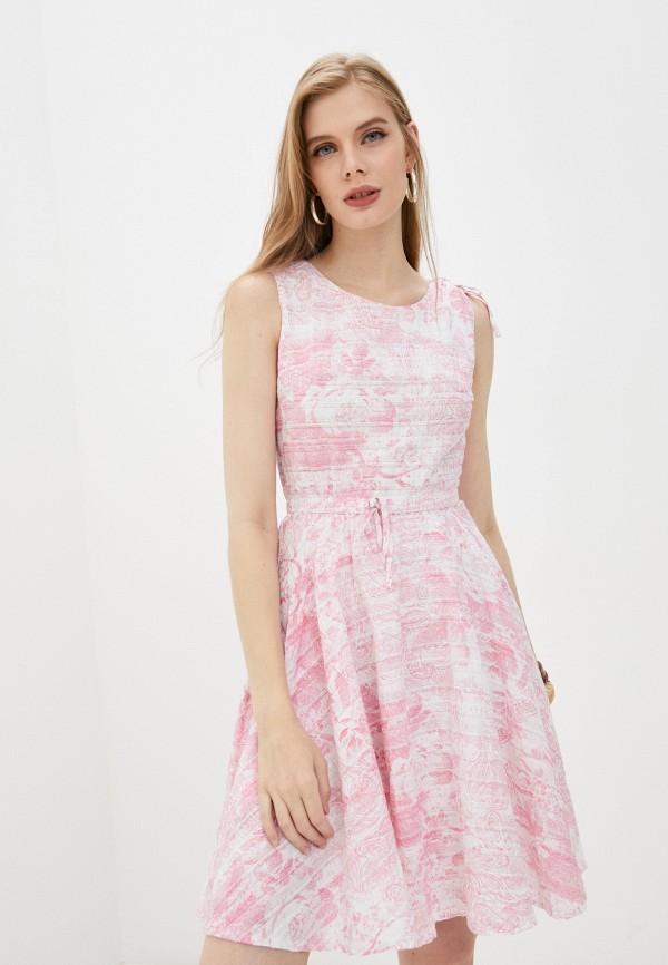 женское повседневные платье giorgio di mare, розовое