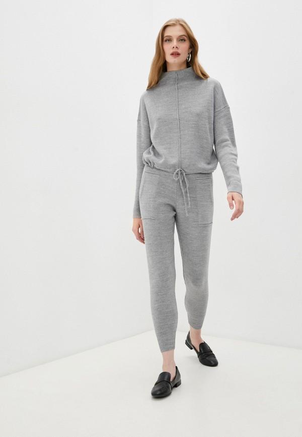 женский костюм giorgio di mare, серый