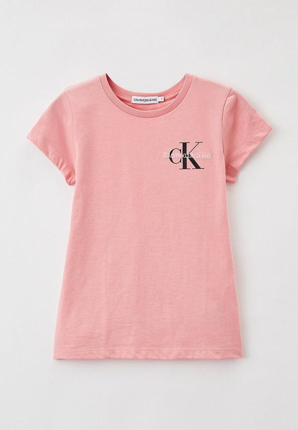 Футболка Calvin Klein Jeans Calvin Klein Jeans IG0IG00573 розовый фото